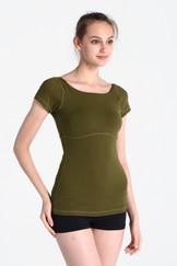 A61Y1125 / Yoga basic 美背短袖練習上衣