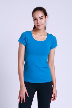 A81Y1124 / Yoga basic 圓領短袖練習上衣