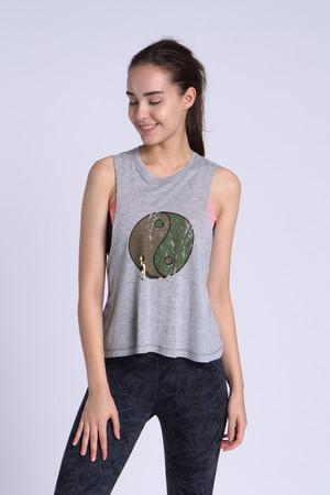 A89Y1A07 / 心試煉-The moment 短版背心罩衫