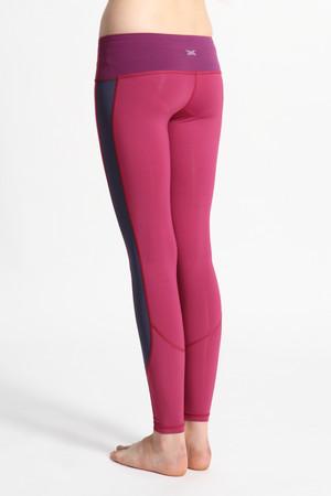 A41Y1302 / Yoga renovation輕量高彈力多功能緊身長褲(裸感)