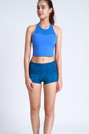 A81Y1203 / asana 流暢線條瑜珈短褲