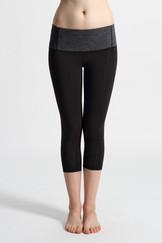 A51Y1351 / Stay in shape 過膝線條緊身褲