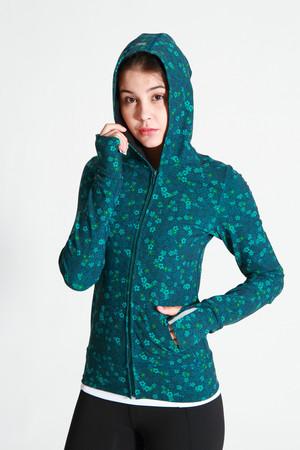 A79Y1B01 / Sudden rain 花漾連帽外套